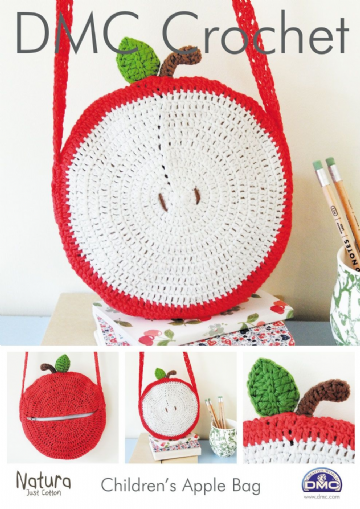 DMC Childrems Apple Bag Natura Crochet Pattern